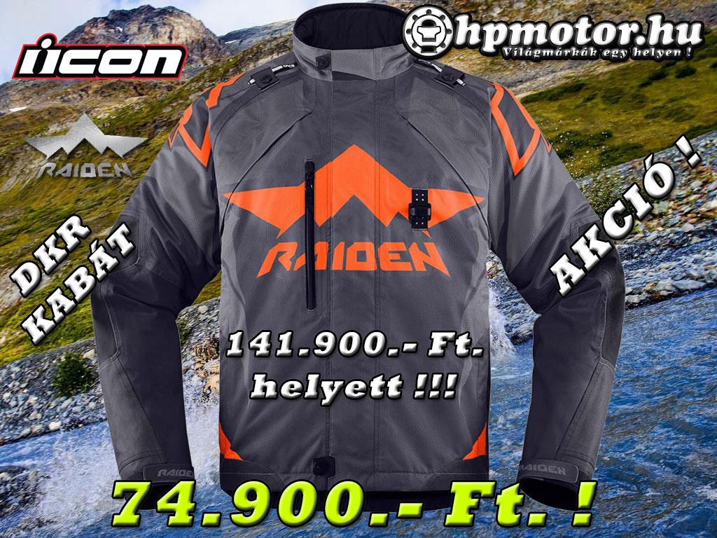 Icon Raiden DKR Kabát Akció